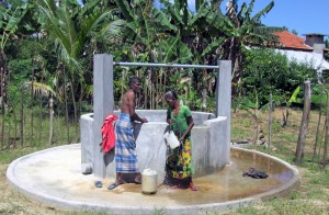 New well constructed in Weligahakandiya village.