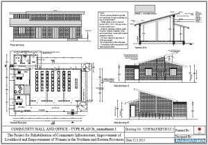 Community Hall and Office: Type Plan (Click to download PDF)