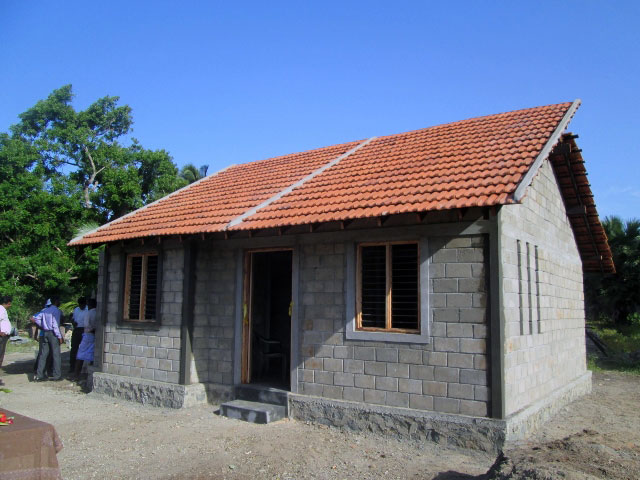 Mrs.Kathiyayini's permanent house